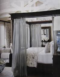 ... Queen Canopy Bed Curtains  . Shapely Decorating ...