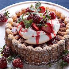 Pound Cake With Strawberries And Whipped Cream Williams Sonoma