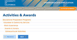 UC Application III: Activities & Awards | Golden Bear Blog