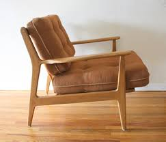 Mid Century Modern Arm Lounge Chairs by Baumritter Picked Vintage