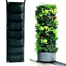hanging wall planter indoor wall hung herb garden wall planter outdoor 7 pockets hanging wall hanging wall planters indoor diy