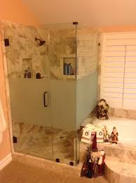privacy frosted glassladera ranch ca frameless shower doortrabuco