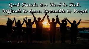 Good Friends Hard To Find Happy Friendship Day Status Video