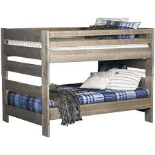 Picture of Cheyenne Driftwood Full Over Bunk Bed | DW-4144/4145/4795-FU