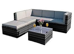 abreo rattan modular corner sofa set garden conservatory furniture 5 to 9 pcs barcelona