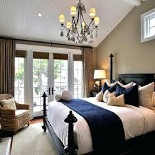 modern blue master bedroom blue
