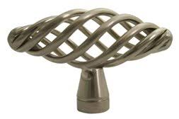 brushed nickel kitchen cabinet knobs  of satin nickel or brushed nickel birdcage kitchen cabinet knob knobs mm approx
