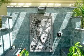 outdoor shower mermaids