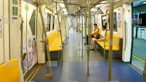 people inside subway train. Contemporary Subway Walk Through Empty Subway Train Few People Sitting Stock Video Footage In People Inside Subway Train T