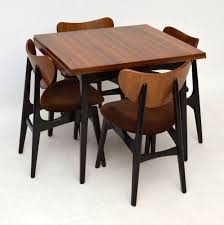 Retro Kitchen Table Chairs G Plan Butterfly Chairs Retro Dining Suite For Sale London Danish