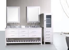White Corner Bathroom Sinks Vanities Small Tall Bathroom Storage Cabinet