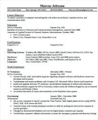 It Networking Engineer Resume Template It Infrastructure Manager