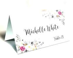 Seating Chart Cards Template Free Wedding Seating Cards Template Grainsdor Com
