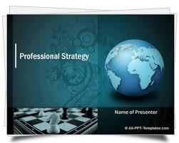 Formal Ppt Templates Powerpoint Strategy Template