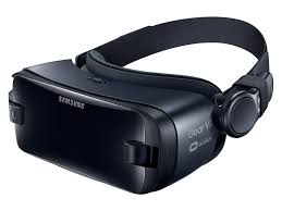 samsung virtual reality headset. samsung gear vr virtual reality headset quarter view