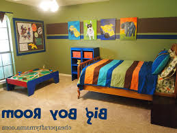 Decorate Boys Bedroom Captivating Decor F Sports Themed Bedrooms ...