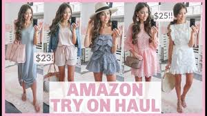 HUGE AMAZON TRY ON HAUL <b>2019</b> | <b>SUMMER</b> + VACATION ...