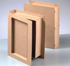 large paper mache book box to decorate papier mache bo amazon co uk kitchen home