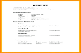 References On A Resume Amazing Example Of References On Resumes Kenicandlecomfortzone