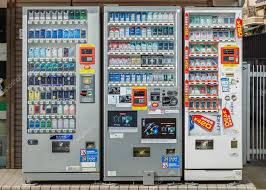 Used Cigarette Vending Machine Gorgeous Cigarette Vending Machine In Kyoto Stock Editorial Photo