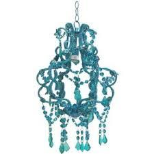 15 blue beaded hanging chandelier hobby lobby