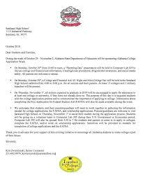Saraland High School Latest News College Application Week