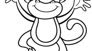 Coloring Pages Of Monkeys Monkey Coloring Pages Printable Monkeys