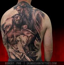 Skin Design Vegas Religious Tattoos By Robert Pho Skin Design Tattoo