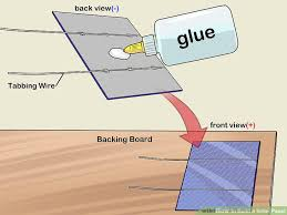 how to build a solar panel (with pictures) wikihow diy solar panel wiring diagram image titled build a solar panel step 7