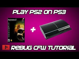 play ps2 games on rebug cfw cex ps3
