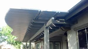 free standing aluminum patio cover. Aluminum Lattice Patio Cover With Spacers- 53 Free Standing I