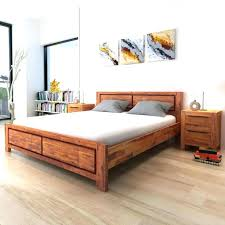 Reclaimed Wood Bed Frames Reclaimed Wood Storage Bed Medium Size Of ...