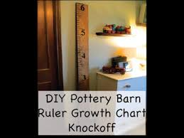 2x4 Ruler Growth Chart Diy How To Make A Pottery Barn Diy Ruler Growth Chart
