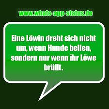 Löwen Whatsapp Status Sprüche