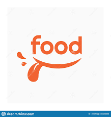 Grocery Store Logo Design Food Logo With Smile Label For Food Company Stock Vector