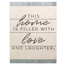 stratton home decor this home is filled with love wood and galvanized wall art write a review