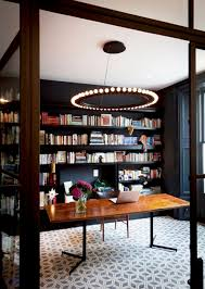 Furniture: Built In Home Library Decor Ideas - Home Library