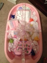 baby shower bathtub gift