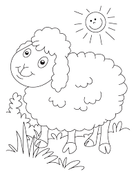 Small Picture Sheep Coloring Pages Pictures Archives gobel coloring page
