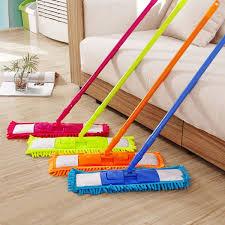 Colorful 360 Degree Rotatable Floor Mops Cleaner Handheld Sweeper