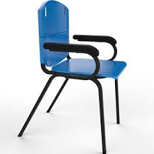 school chair back.  Back Theraplus Student Chair With Double Back And Arms And School