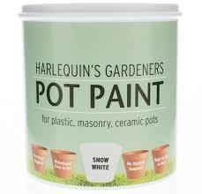 gardeners pot paint harlequin paints