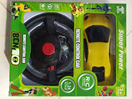 Buy Mahadev 1:24 Ben 10 <b>Super Power Remote Control Car</b> with ...