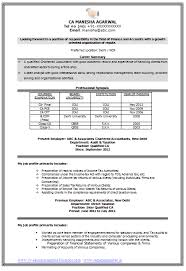 Best Words For Resume Amazing Best Chartered Accountant CV Page 48 Career Pinterest Word