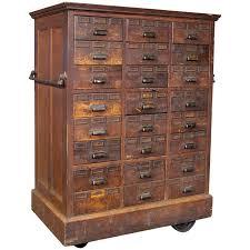 wood storage cabinets with locks. rolling apothecary wood storage cabinet, vintage industrial with brass hardware cabinets locks