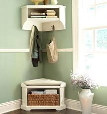 Corner Entry Bench Coat Rack Mesmerizing Corner Mudroom Furniture Corner Entryway Bench Corner Mudroom