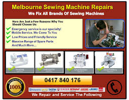 Sewing Machine Service Melbourne