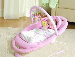 Newborn Bedroom Furniture Furniture Cute Brown Baby Rocking Chair Design With Bouncer