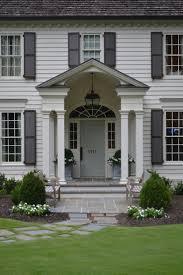 Architecture Gray Front Doors Blue Exterior Paint Colors