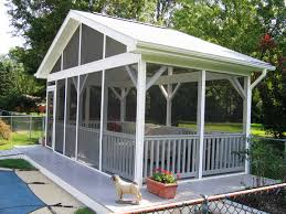 how to add home value with a screen porch design